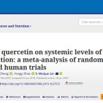 Quercetin Reduces Some Inflammatory Biomarkers