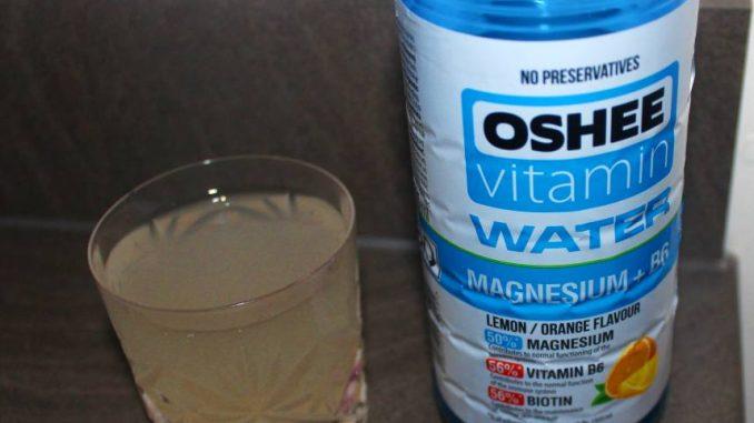 Oshee Vitamin Water - Magnesium + B6 Review