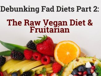 Debunking Fad Diets Part 2: The Raw Vegan Diet & Fruitarian