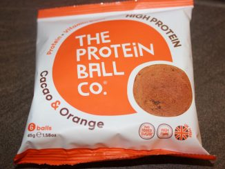 The Protein Ball Co – Cacao & Orange Protein + Vitamin Balls Review