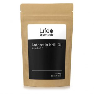 Antarctic Krill Oil Superba 2™ 500mg - 60 Soft Gels - Life Essentials