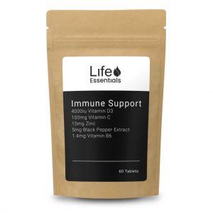Immune Support (Vit C, Vit D3, Zinc, Piperine)
