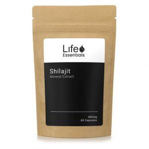 Shilajit Extract 400mg 60 Capsules Life Essentials