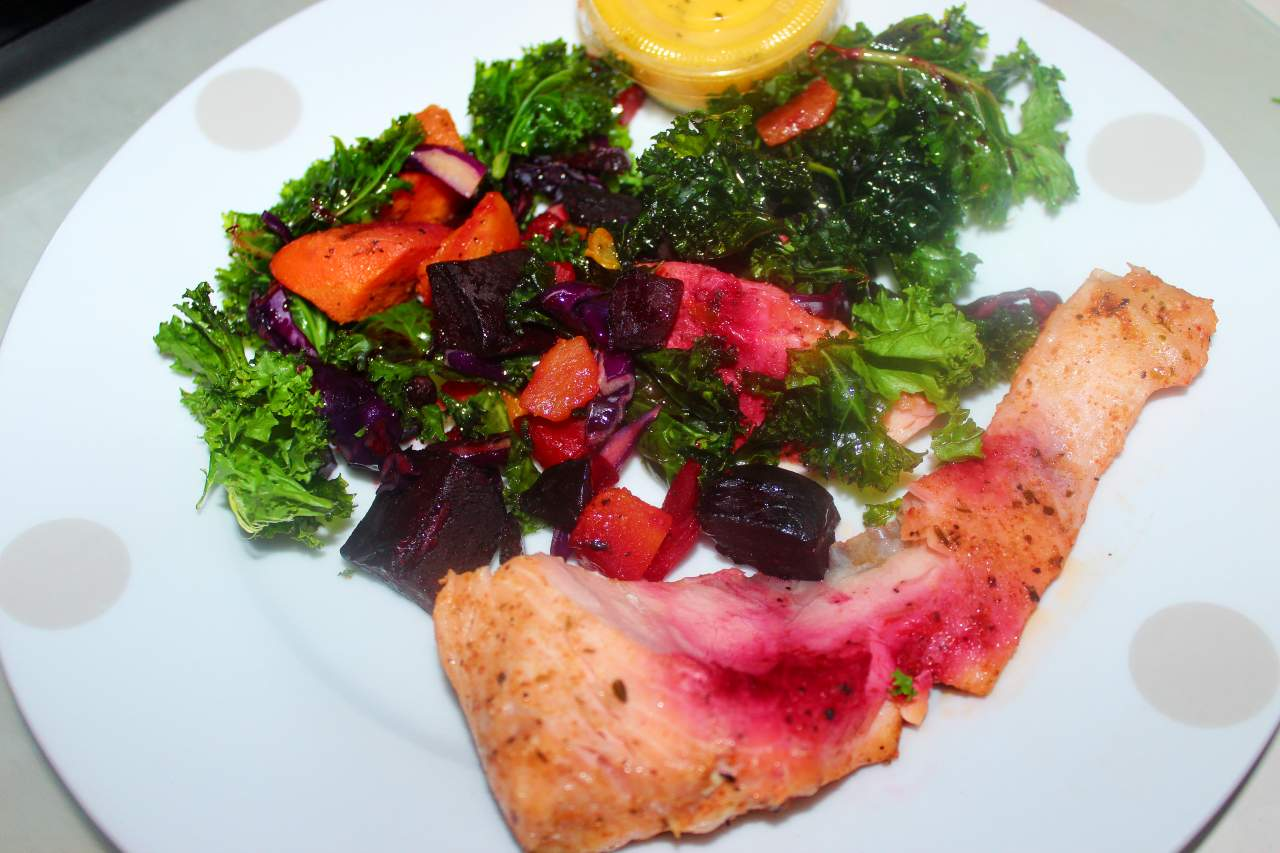 Salmon and Root Vegetables The Good Prep Meal Delivery Service Review